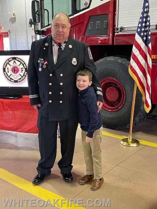 Scott with Grandson Ben